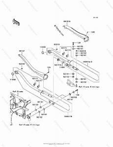 Kawasaki Motorcycle 2006 Oem Parts Diagram For Muffler S