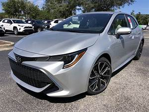 New 2021 Toyota Corolla Hatchback Xse 5 In St  Augustine