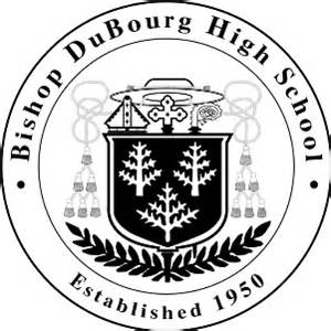 free high school yearbooks file bishop dubourg seal png