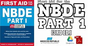 First Aid For The Nbde Part 1 3rd Edition Pdf Free