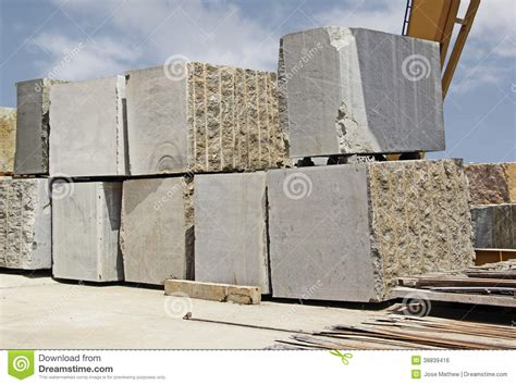 indian granite blocks stock photo image 38839416