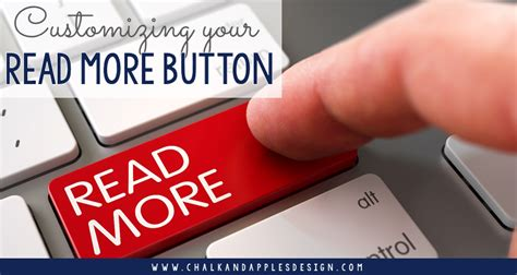 How To Customize The Blogger Read More Button
