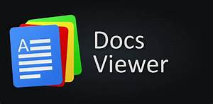 docs viewer pro for android With docs viewer pc