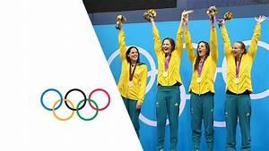 Australia Set New Olympic 4 x 100m Freestyle Record ...