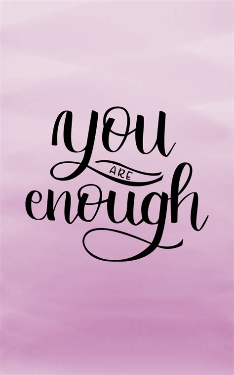 Are You Free Printable You Are Enough Pretty Prints Paper