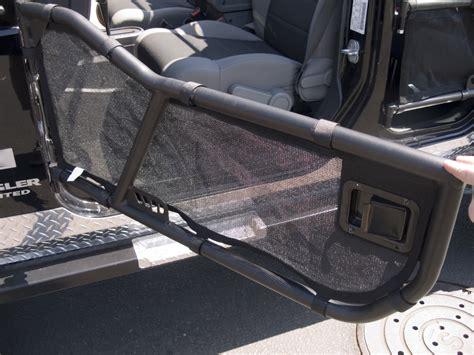 jeep mesh doors warrior products 90775 door mesh covers for 87 06
