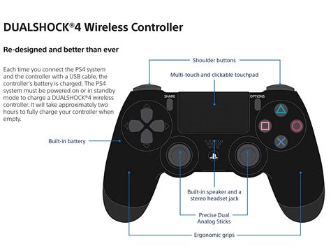 Ps4 Controller Diagram by Brand New Genuine Original Sony Ps4 Dualshock 4 Wireless