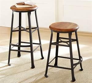 top pottery barn bar stools plans mbnanotcom With aaron barstool pottery barn