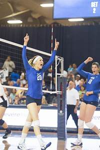 BYU women's volleyball team sweeps University of San Diego ...