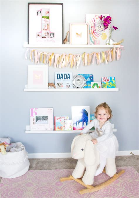 Nursery Shelves Shining On Design