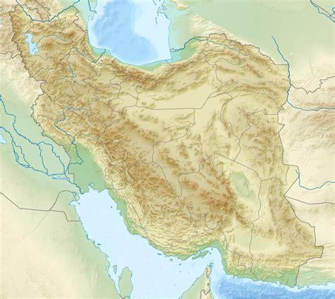 Ģeogrāfiskā karte - Irāna - 1,200 x 1,071 Pikselis - 941 ...
