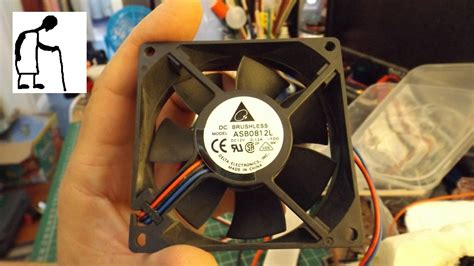 can you a 3 wire pc fan with an esc