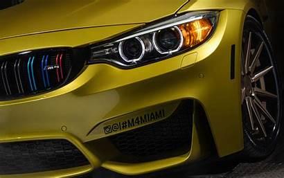 Bmw M4 Yellow Austin 5k Wallpapers