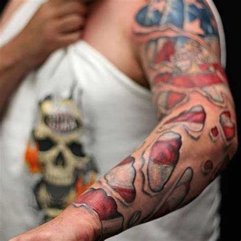 american flag tattoos patriotic designs ideas