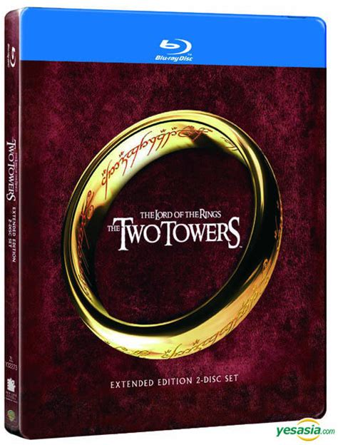 Yesasia Lord Of The Rings Two Towers (bluray) (2disc