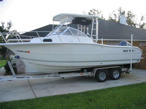 Sea Pro Boats Website by Boat For Sale 2005 Sea Pro 238 W A The Hull