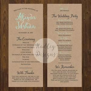hadley designs programs With wedding programs ideas samples