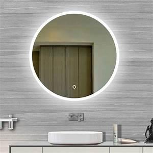 les 25 meilleures idees de la categorie lumieres miroir With carrelage adhesif salle de bain avec eclairage led rond