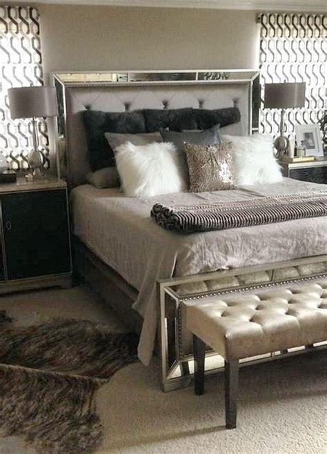 silver bedroom decor ideas  pinterest