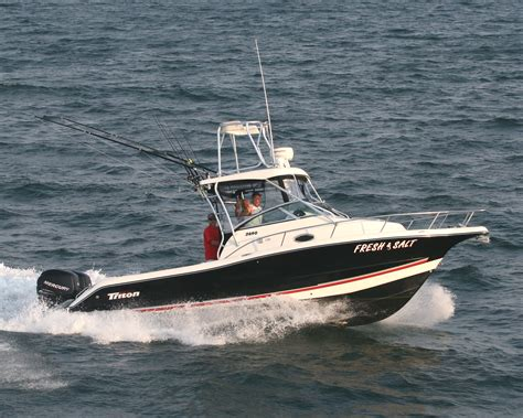 Triton Boats Saltwater by Fresh And Salt Water Fishing Charters In Virginia