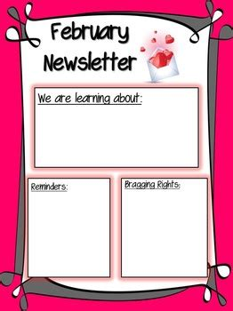 february newsletter  kacys prekinders teachers pay
