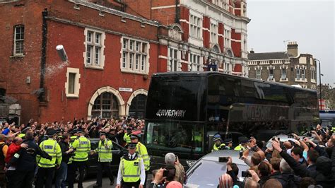 West Ham to ban fans for life after Manchester United bus ...