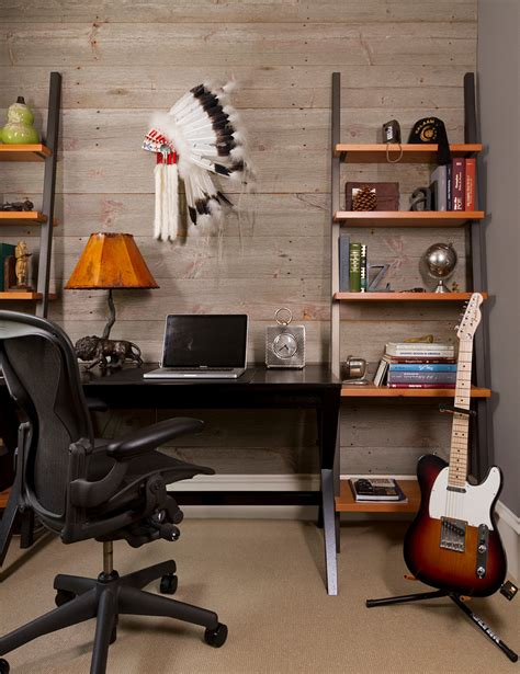 office desk with bookcase and shelving chic leaning bookcase remodeling ideas for home office