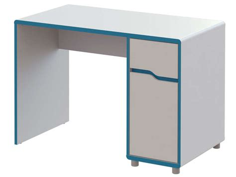 bureau enfants conforama bureau moby coloris blanc et bleu vente de bureau