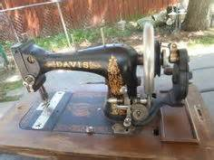 vintage davis sewing machine vertical feed 1868 1920 sewing sewing machines and