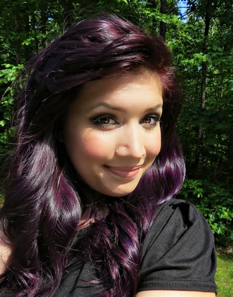 The Eagals Nest How To Dye Your Hair Purple