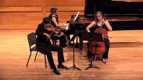 Piano Trio In G Minor, Op. 15 (smetana)