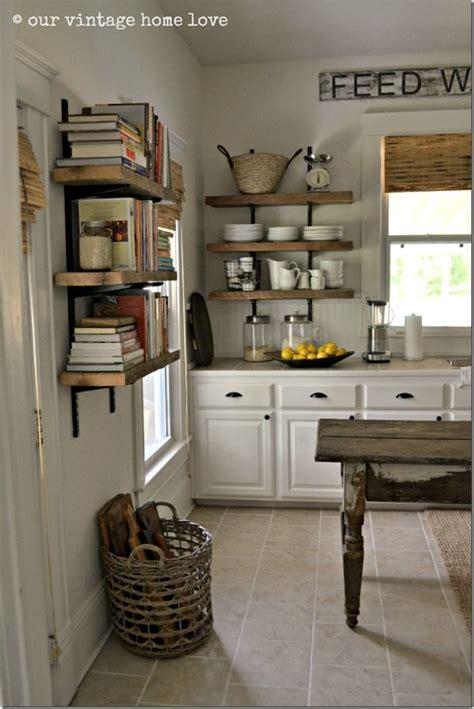 open kitchen shelving ideas  pinterest