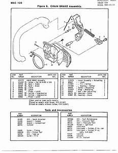 Mcculloch Model 24144 Chainsaw  Gas Genuine Parts