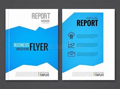 Template Business Polygonal Brochure Modern Background Vector