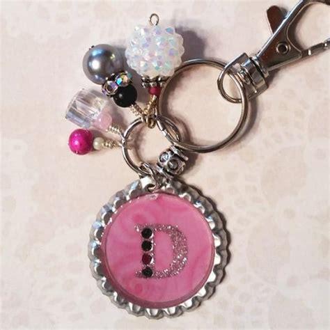 custom keychain purse charm womens keychains keychain  women monogram keychain custom