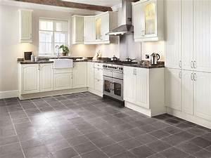 Gray, Slate, Porcelain, Tile, Kitchen, Flooring, U2013, Easyhometips, Org