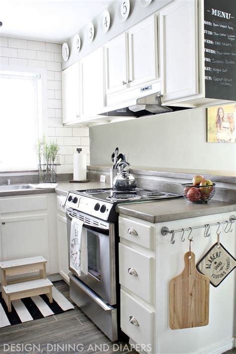 diy cabinets kitchen 25 best ideas about white concrete countertops on 3391