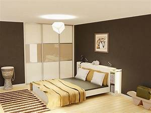 peinture chambre adulte couleurs criteres de choix ooreka With modele de chambre peinte