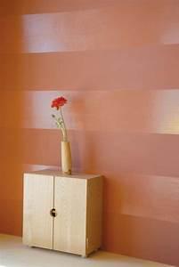 Wand Mit Streifen : wandgestaltung mit farbe ~ Indierocktalk.com Haus und Dekorationen