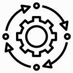 System Icon Process Control Procedure Icons Sistema