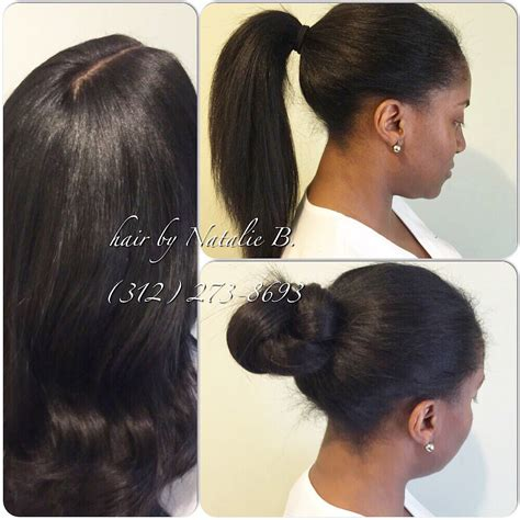 Sew In Ponytail Hairstyles by Yes You Can Pull Your Weave Up In A High Ponytail