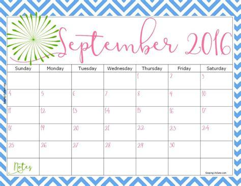 printable calendar keeping life sane