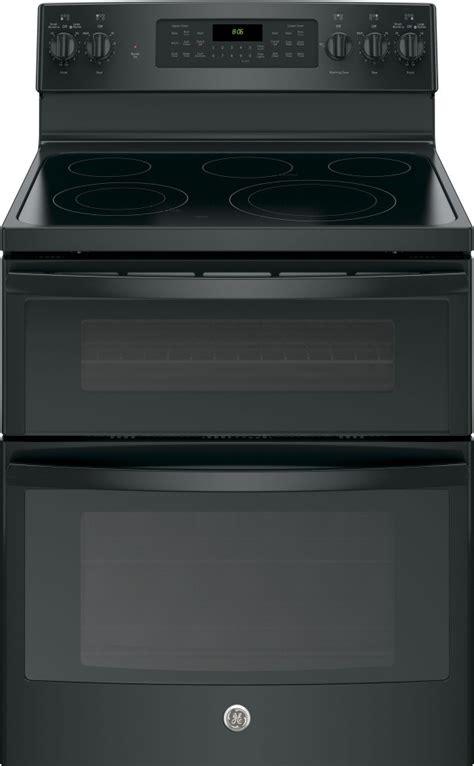 jbdjbb ge   standing electric double oven convection range black