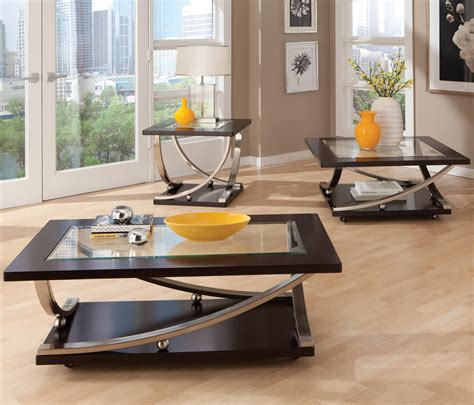 wolf table with glass table top square end table with glass table top by standard
