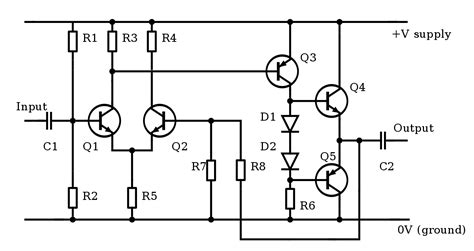 File Amplifier Circuit Small Svg Wikimedia Commons