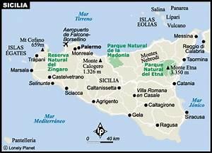 mapa sicilia VAMOS DE VIAJE