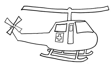 free printable helicopter coloring pages for