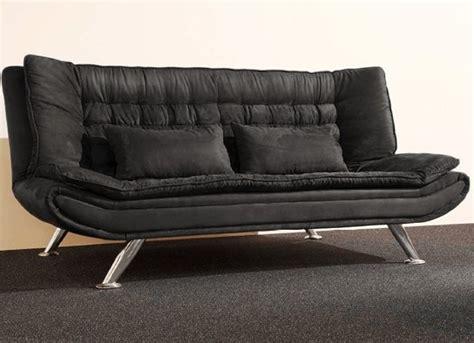 canape convertible tres confortable clic clac canapé convertible montana noir en tissu