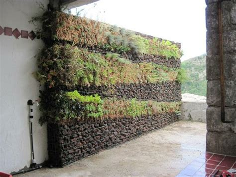 mur végétal stabilisé wall gabion integrirajte ga v svoj vrt paintonline org