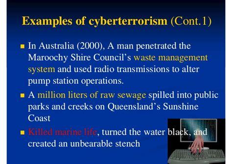cyber terrorism fact  fiction